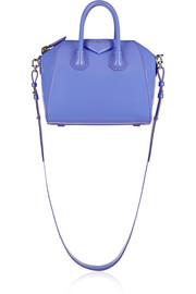 Mini Antigona bag in lilac calf leather