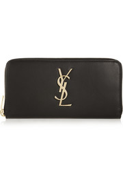 Saint Laurent Monogramme leather continental wallet