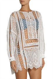 Zimmermann Riot broderie anglaise tunic