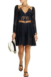 Riot Eyelet broderie anglaise playsuit