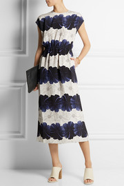 Mother of Pearl Kara floral-print silk midi dress