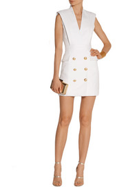 Balmain Twill mini dress