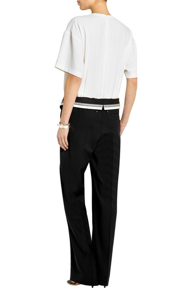 Maison Margiela. Crepe and wool-blend twill jumpsuit. $477. Play
