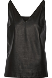 Maison Margiela Leather top