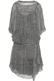 Étoile Isabel Marant Danbury printed silk-chiffon dress