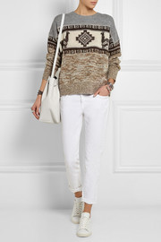 Étoile Isabel Marant Remington intarsia alpaca-blend sweater