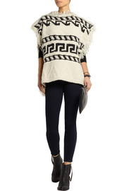 Étoile Isabel Marant Texas knitted poncho
