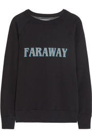 East printed cotton-jersey sweatshirt