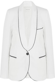 Lana cotton-twill blazer