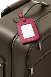 Smythson Textured-leather travel set