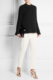 Rochas Chunky-knit cotton-blend sweater