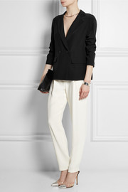 Calvin Klein Collection Baha silk-charmeuse blazer