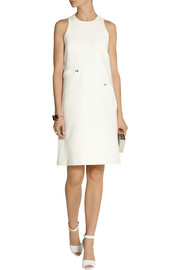 Calvin Klein Collection Bawden paneled crepe dress