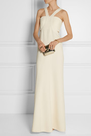 Calvin Klein Collection Buros wool-crepe gown