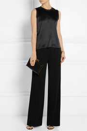 Calvin Klein Collection Alba silk-satin top