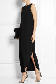 Calvin Klein Collection Belinda silk-crepe maxi dress