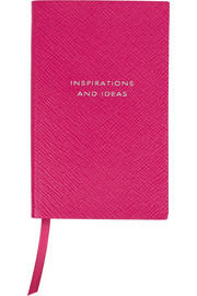 Smythson Panama Inspiration and Ideas textured-leather notebook