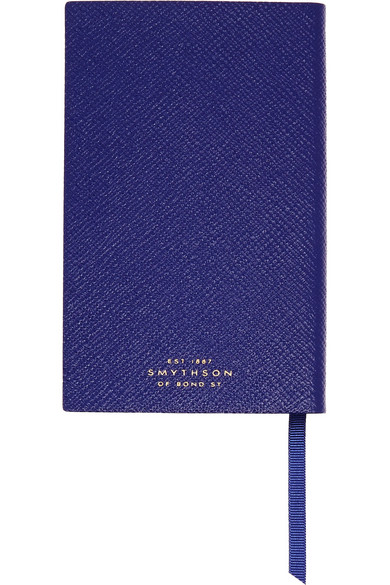 This is on my Wish List: Smythson | Panama Consistently Inconsistent textured-leather notebook |