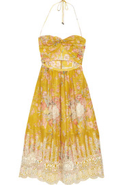 Zimmermann Confetti floral-print cotton dress