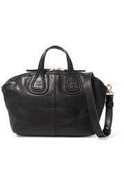 Micro Nightingale bag in black leather