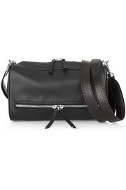 Maison Martin Margiela Convertible leather and watersnake shoulder bag