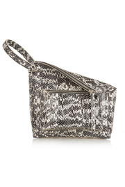 Elaphe wristlet clutch