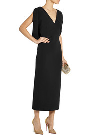 Antonio Berardi Stretch-crepe midi dress