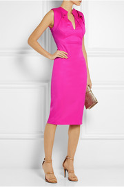 Antonio Berardi Folded stretch-wool dress