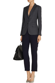 Agnona Wool and linen-blend blazer