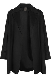 Agnona Silk and cashmere-blend coat