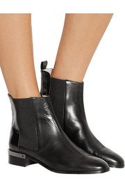 Reed Krakoff Polished-leather Chelsea boots