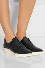 Reed Krakoff Oxford Trainer leather wedge sneakers