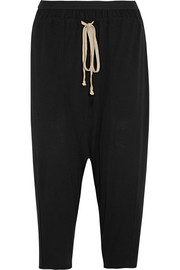 Lilies cropped jersey track pants