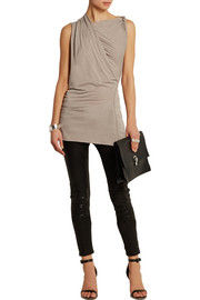 Rick Owens Lilies draped jersey top