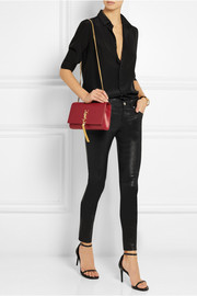 Monogramme medium leather shoulder bag