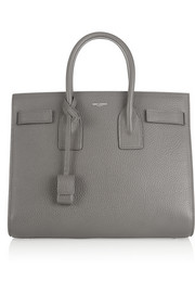 Sac De Jour small textured-leather tote