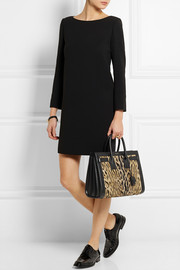 Saint Laurent Sac De Jour small leopard-print calf hair and leather tote