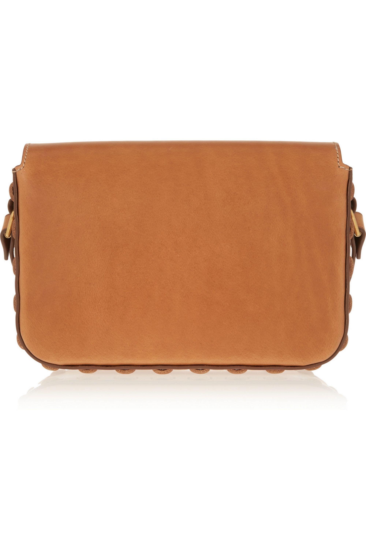 SAINT LAURENT Sac Université medium leather shoulder bag