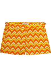 + Emilio Pucci Whippet printed cotton boardshorts