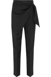 J.W.Anderson Draped wool tapered pants