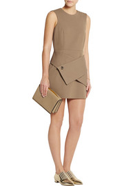 J.W.Anderson Wool-blend twill mini dress