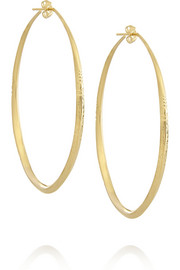 Apache gold-plated hoop earrings