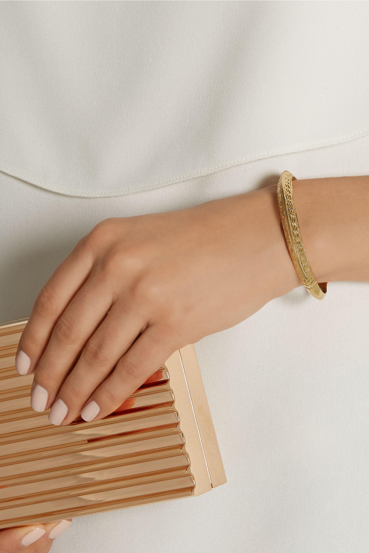 Aurélie Bidermann Apache gold-plated cuff