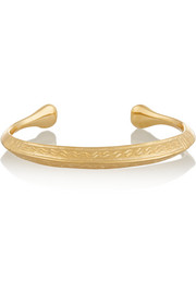 Apache gold-plated cuff