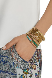 Aurélie Bidermann Apache gold-plated cuff