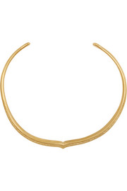 Apache gold-plated necklace