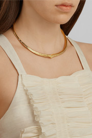 Aurélie Bidermann Apache gold-plated necklace