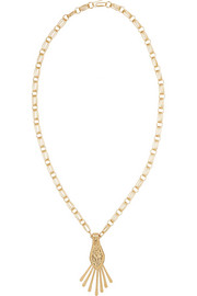 Aurélie Bidermann Iroquois gold-plated necklace