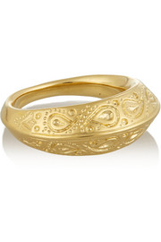 Aurélie Bidermann Apache gold-plated ring