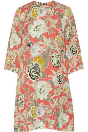 Etro Printed jacquard dress